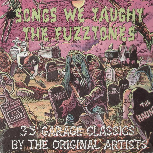 Songs We Taught The Fuzztones / Various