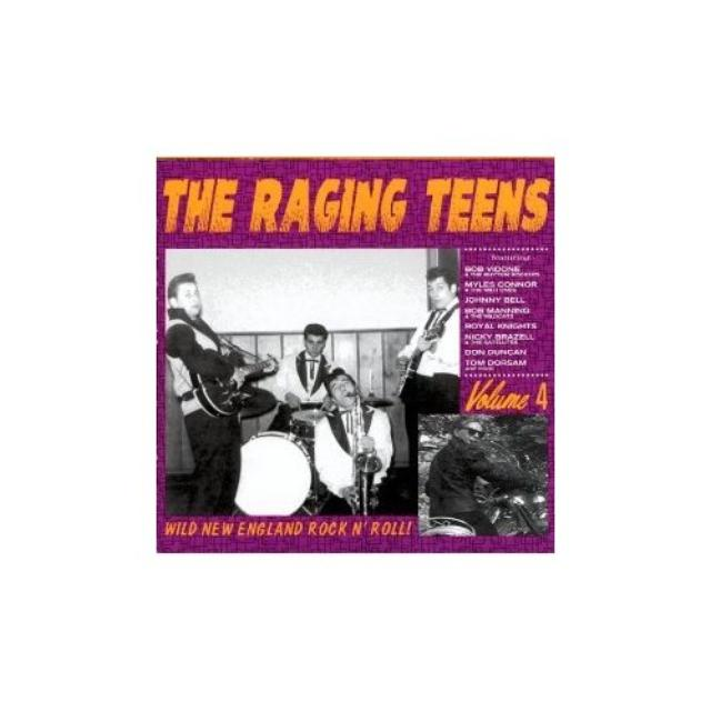 RAGING TEENS 4 / VARIOUS Vinyl Record