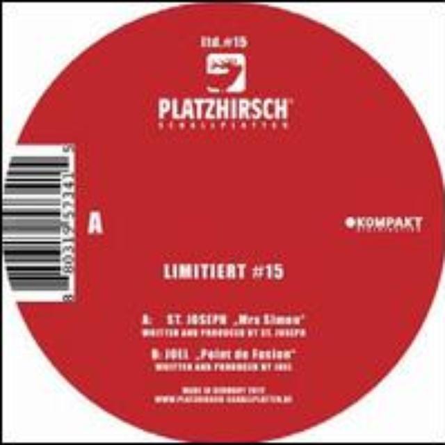 St Joseph / Joel LIMITIERT 15 Vinyl Record