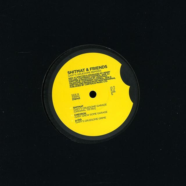 Shitmat & Friends GARY'S GRUESOME REMIXES Vinyl Record