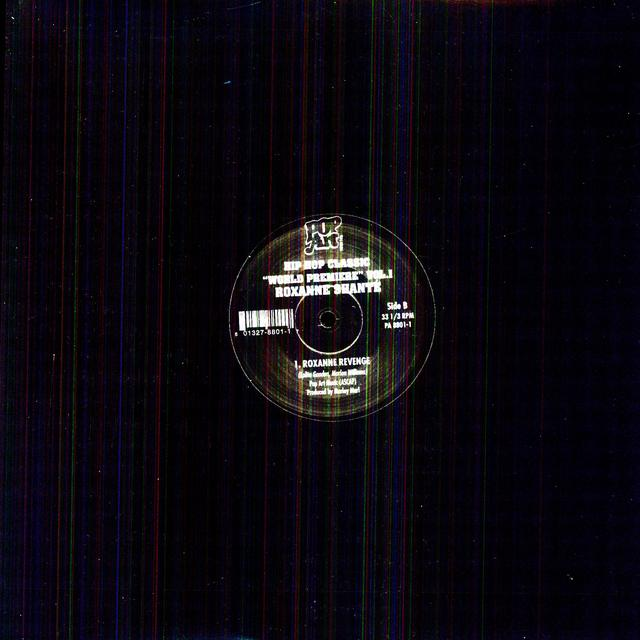 Roxanne / Mc Shan Shante ROXANNE REVENGE / BRIDGE Vinyl Record