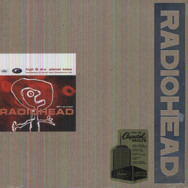 Radiohead HIGH & DRY PT 1 (LTD) (EP) (OGV) (Vinyl)