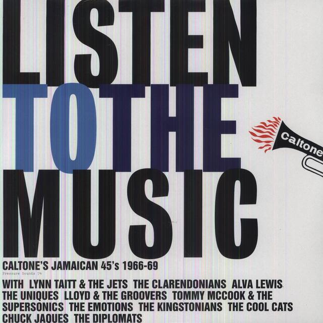 Listen To Music: Caltone'S Jamaican 45'S / Var