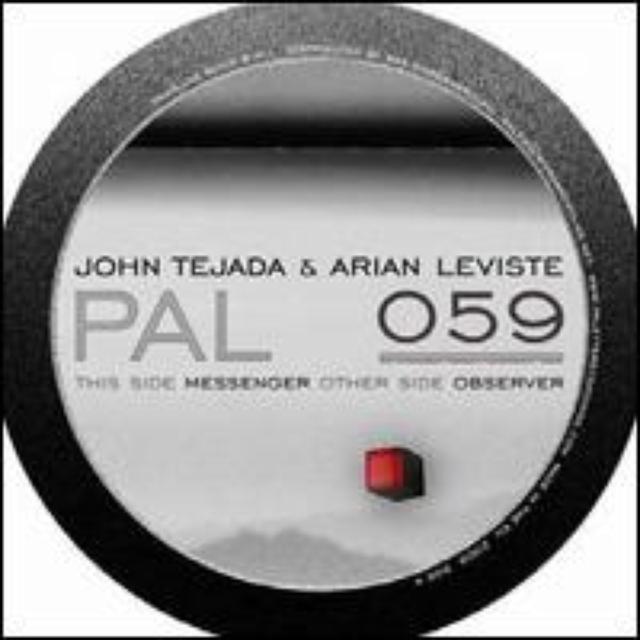 John Tejada & Arian Leviste MESSENGER / OBSERVER Vinyl Record