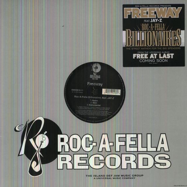 Freeway ROC-A-FELLA BILLIONAIRES (X9) Vinyl Record