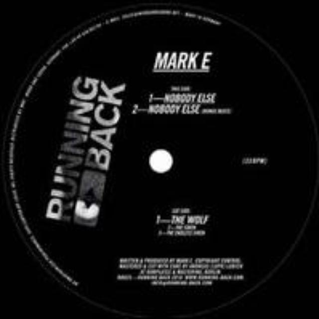 Mark E NOBODY ELSE Vinyl Record