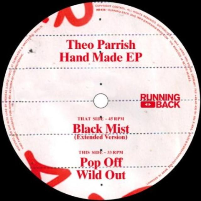 Theo Parrish HAND MADE Vinyl Record