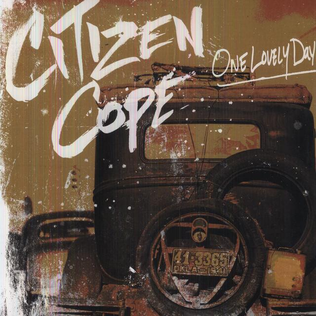 Citizen Cope ONE LOVELY DAY Vinyl Record