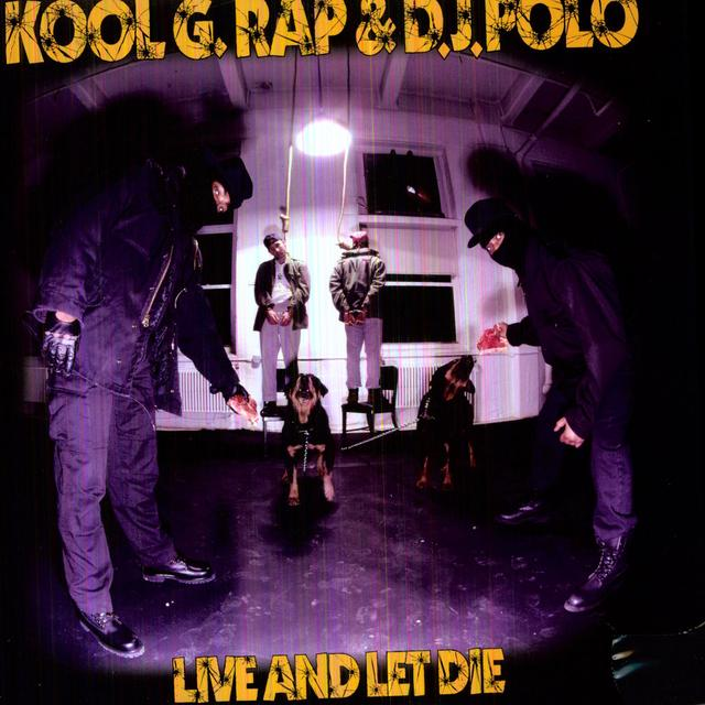 Kool G Rap & Dj Polo LIVE & LET DIE Vinyl Record
