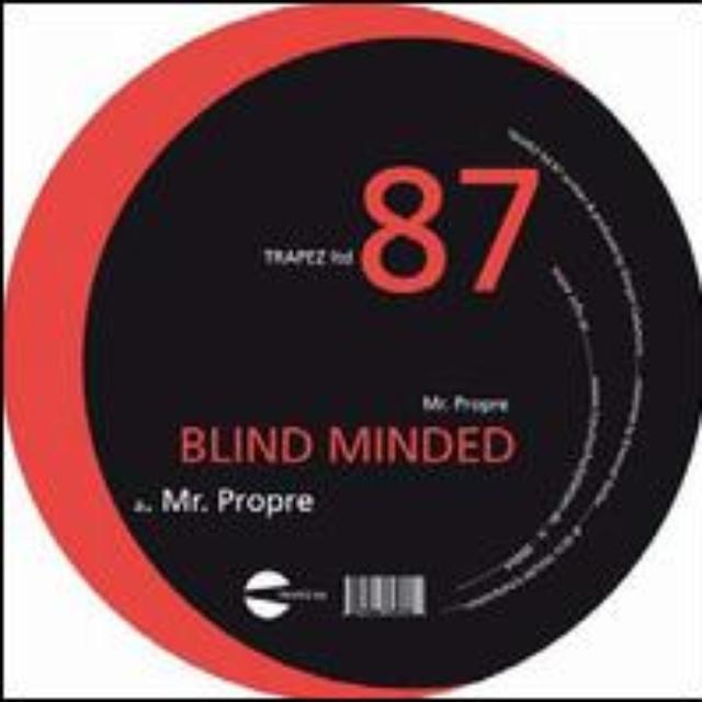 Blind Minded MR PROPRE Vinyl Record