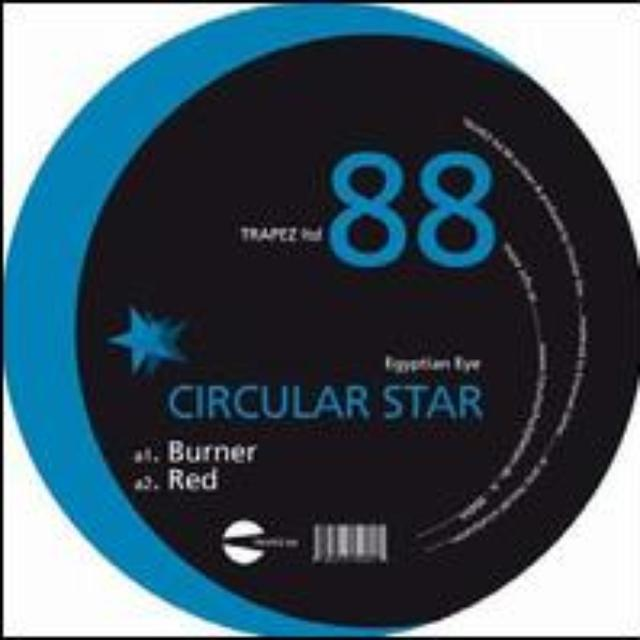 Circular Star EGYPTIAN EYE Vinyl Record