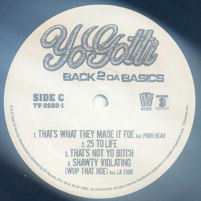 Yo Gotti BACK 2 DA BASICS Vinyl Record