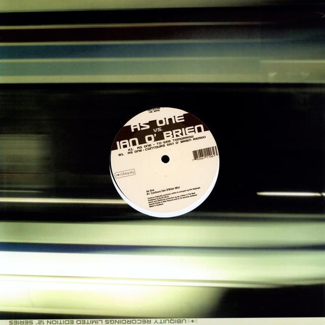 Ian As One / O'Brien TO SEE TOMORROW / CONTOURS Vinyl Record