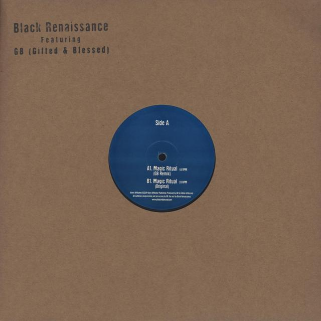 Gb (Gifted & Blessed) LUV N HAIGHT EDIT SERIES VOL 4: BLACK RENAISSANCE Vinyl Record