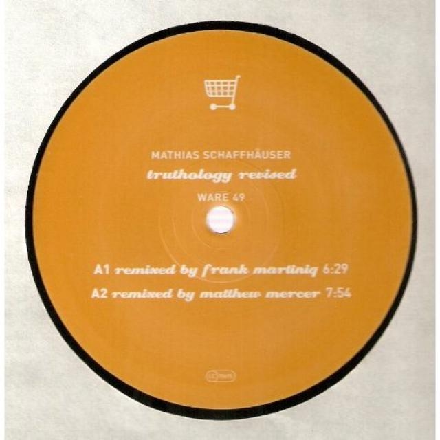 Mathias Schaffhauser TRUTHOLOGY Vinyl Record