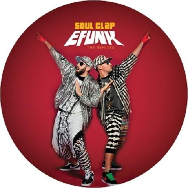 Soul Clap EFUNK: THE REMIXES (EP) Vinyl Record