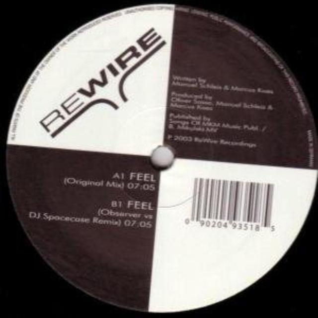 Dj Rodd Y Ler FEEL Vinyl Record