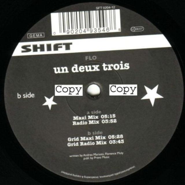 Flo UN DEUX TROIS Vinyl Record