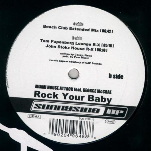 Miami House Attack ROCK YOUR BABY Vinyl Record