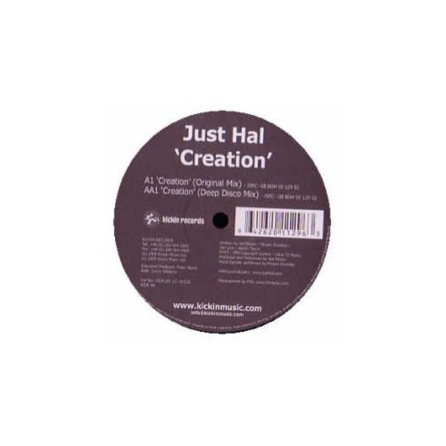 Just Hal CREATION Vinyl Record