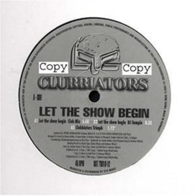 Clubbiators LET THE SHOW BEGIN Vinyl Record