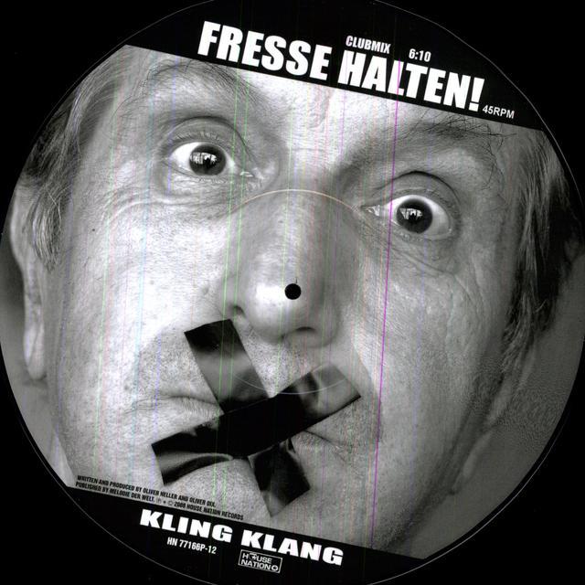 Kling Klang FRESSE HALTEN Vinyl Record