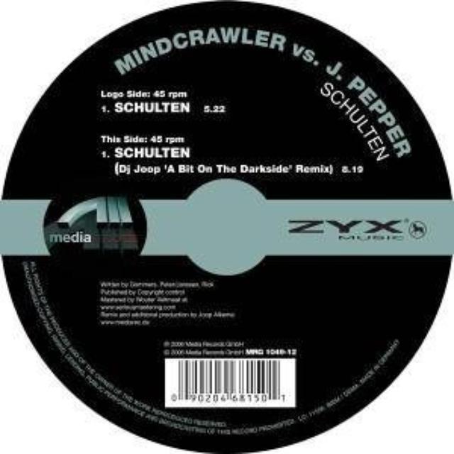 Mindcrawler SCHULTEN Vinyl Record