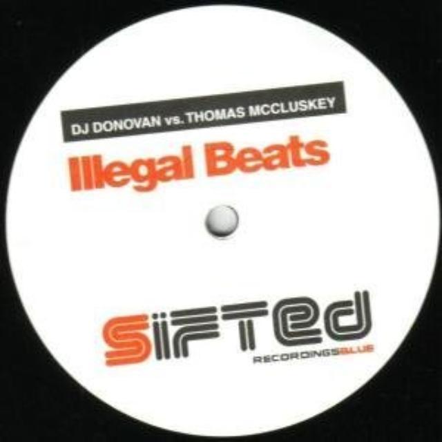 Dj Donovan/Mc Cluskey ILLEGAL BEATS Vinyl Record