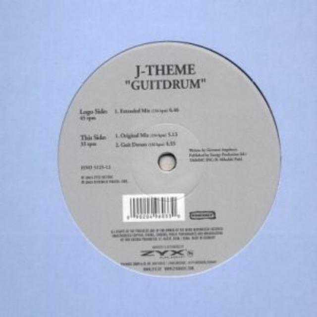 J-Theme GUITDRUM Vinyl Record