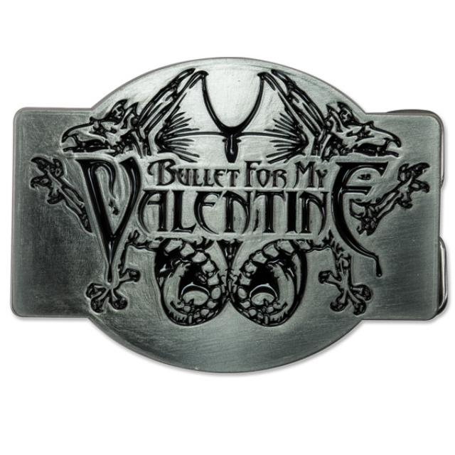Bullet for My Valentine Belt Buckle: Logo & Creatures