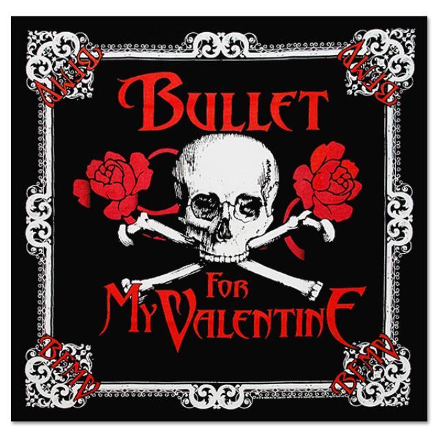 Bullet For My Valentine Skull Bandana