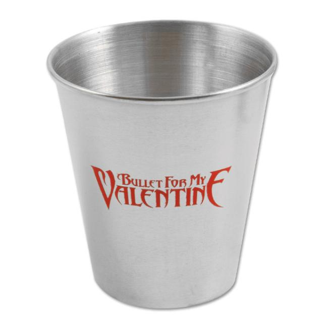 Bullet For My Valentine Metal Shot Glass