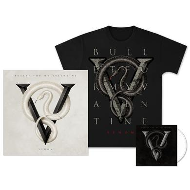 Bullet For My Valentine Venom: Deluxe CD, T-Shirt & Poster Bundle