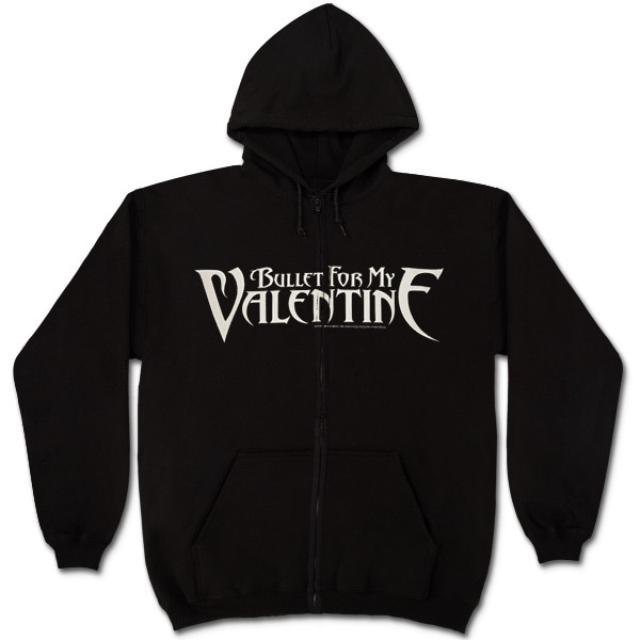 Bullet For My Valentine Logo Zip Hoodie