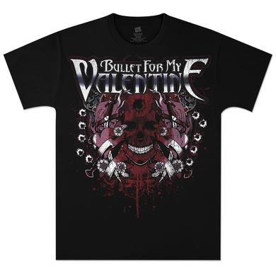 Bullet For My Valentine Strapped Skull T-Shirt