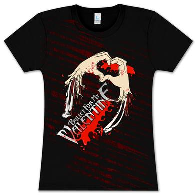 Bullet For My Valentine Severed Hearts Babydoll