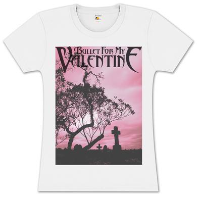 Bullet For My Valentine Silhouette Girlie T-Shirt