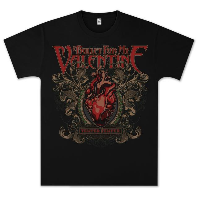 Bullet For My Valentine Temper Temper T-Shirt