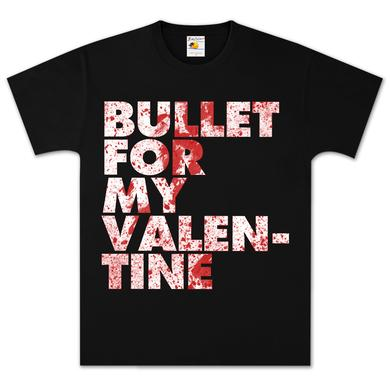 Bullet For My Valentine Bloody Text T-Shirt