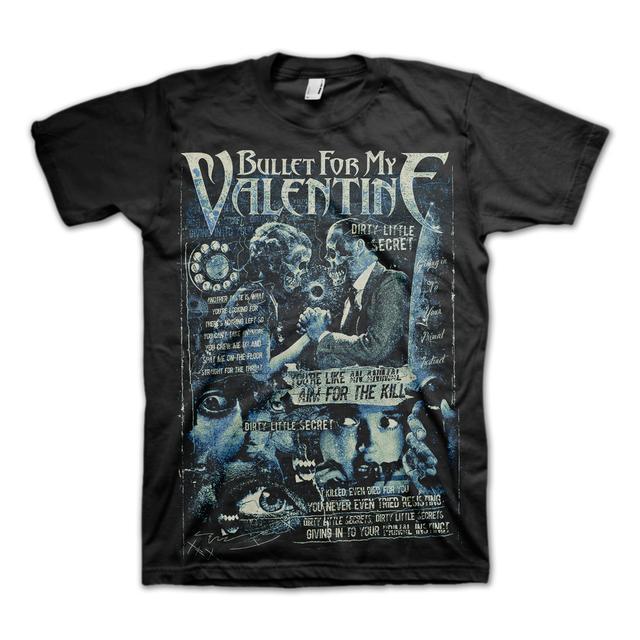 Bullet For My Valentine Dirty Little Secret T-Shirt