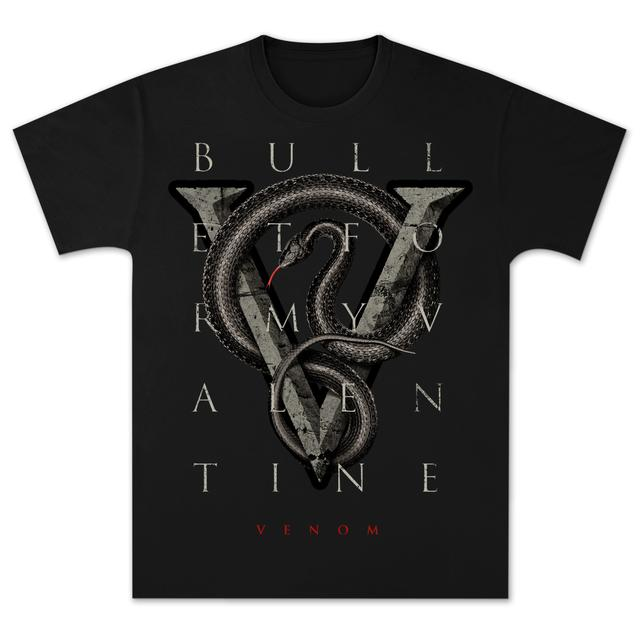 Bullet For My Valentine Venom Snake T-Shirt