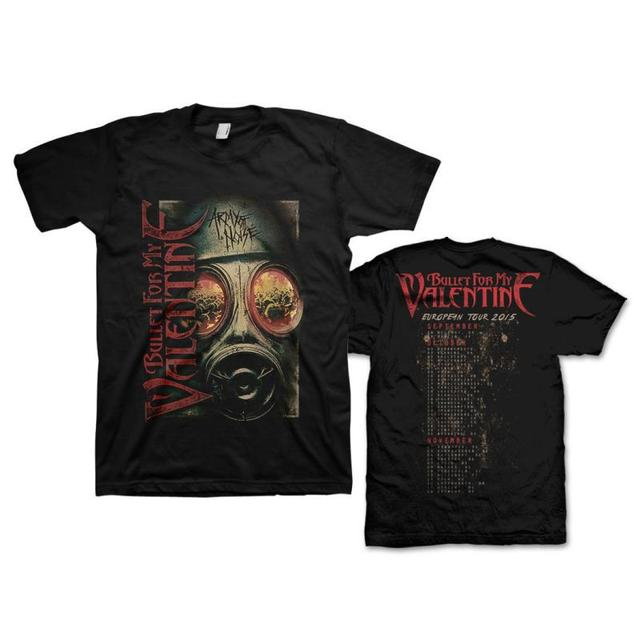 Bullet For My Valentine Army Of Noise Tour T-Shirt