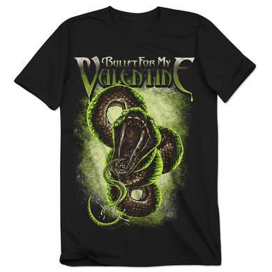 Bullet For My Valentine Venom Snake 2016 Tour T-Shirt