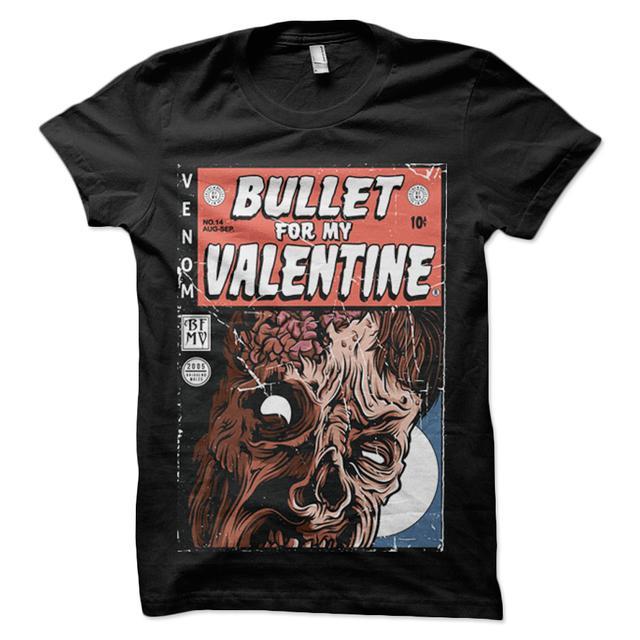 Bullet For My Valentine Venom Zombie Black T-Shirt