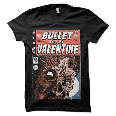 Bullet For My Valentine Venom Zombie Black T-Shirt
