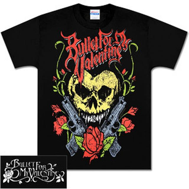 Bullet for My Valentine Heart Skull T-Shirt