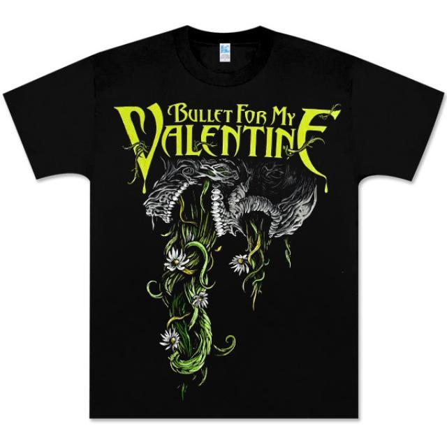 Bullet for My Valentine Flowers Vomit Shirt