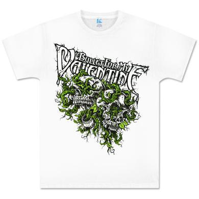 Bullet for My Valentine White Vines Shirt