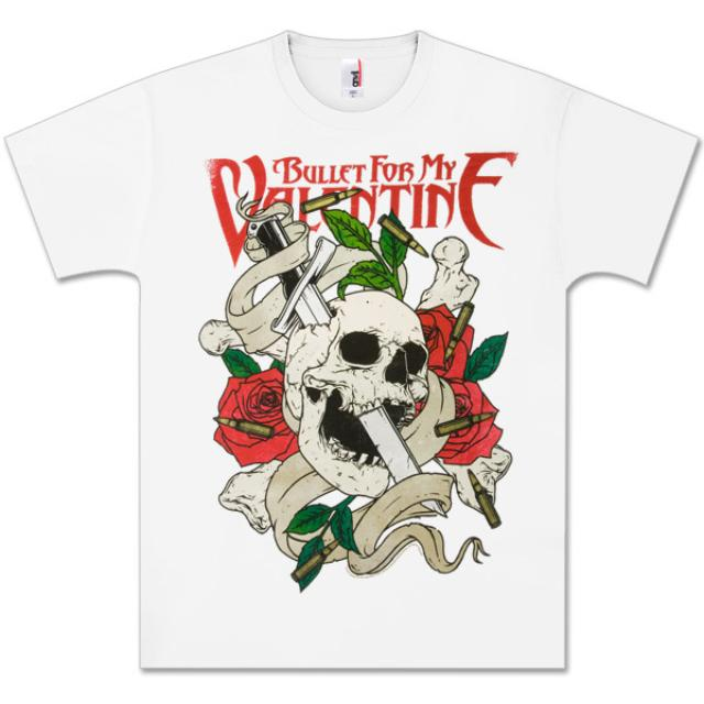 Bullet For My Valentine Sword Skull T-Shirt