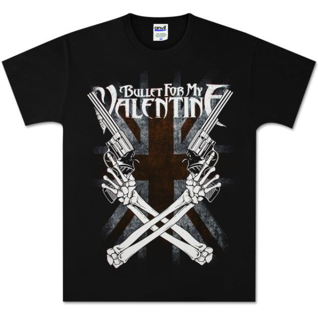 Bullet For My Valentine Cross Guns T-Shirt